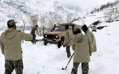 তুষারধস ও ঝড়ে আফগান-পাকিস্তান সীমান্তে শতাধিক মৃত্যু