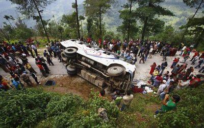 নেপালে বাস দুর্ঘটনায় ২৬ জন নিহত