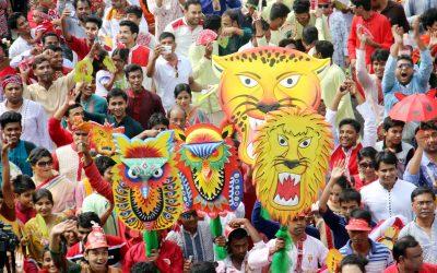 DMP prohibits masks at Mongol Shovajatra