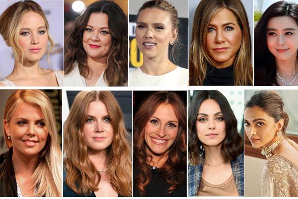 বিশ্বের সবচেয়ে বেশি আয়ের ১০ অভিনেত্রী