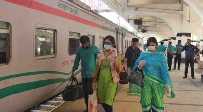 ট্রেন, বিমান ও নৌযান চলাচল বন্ধ: বাংলাদেশ