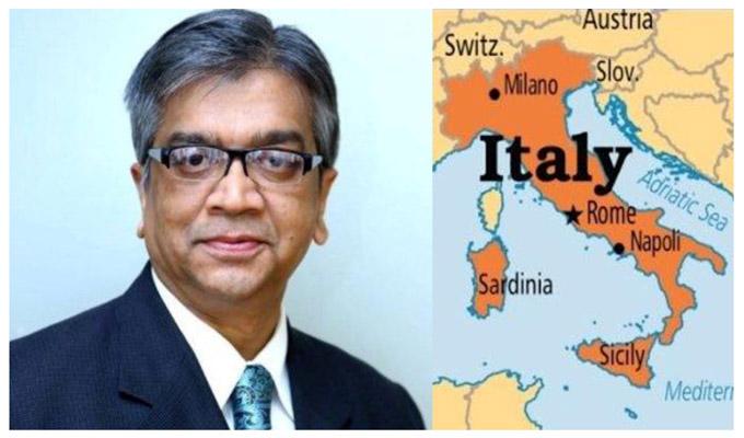 ইতালিতে নতুন রাষ্ট্রদূত শামীম আহসান