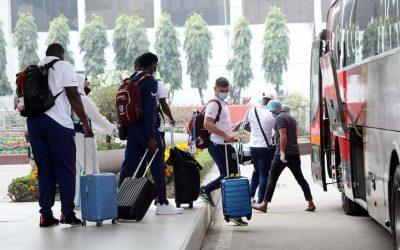 ঢাকায় পৌঁছেছে ওয়েস্ট ইন্ডিজ ক্রিকেট দল