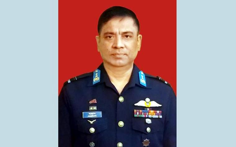 বিমানবাহিনীর নতুন প্রধান শেখ আব্দুল হান্নান