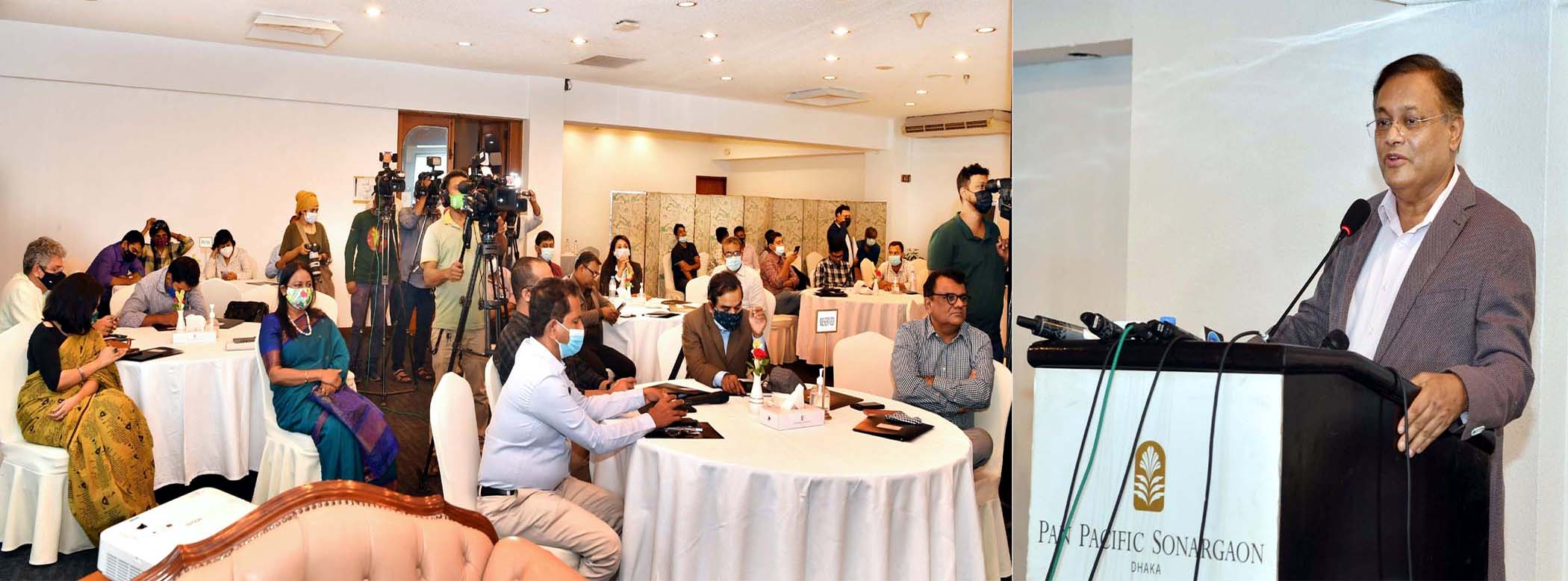 ঢাকায় বিবিসি মিডিয়া অ্যাকশনের 'প্রাইমড' প্রকল্প উদ্বোধন